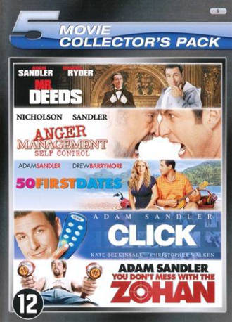 Mr. Deeds/Anger management/50 first dates//Click/You don't mess with the Zohan (DVD)