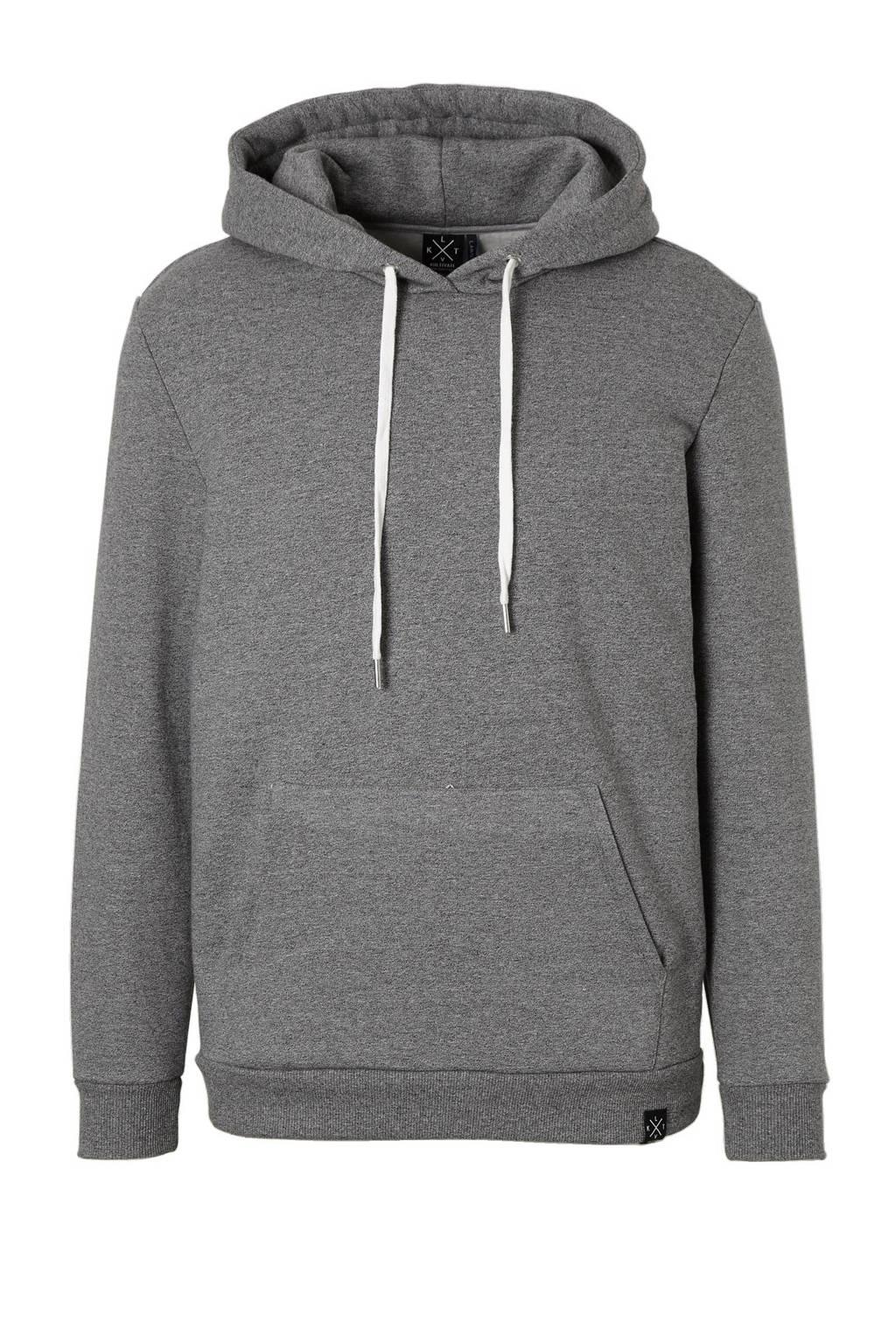 Kultivate Essential hoodie, Grijs melange