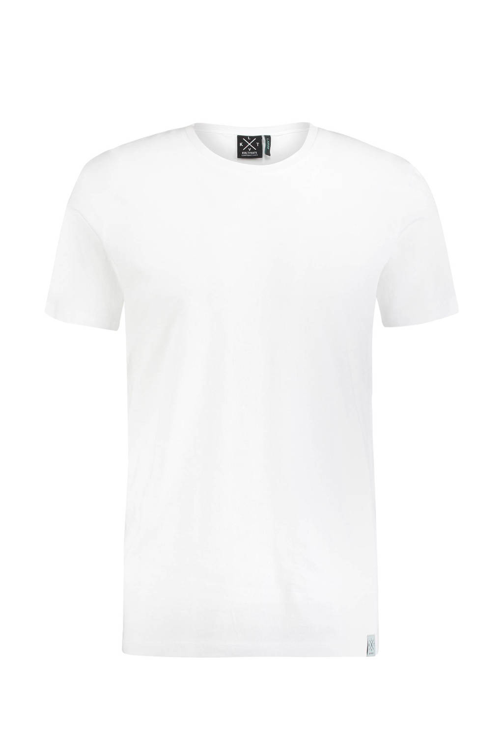 Kultivate Essential T-shirt, Wit