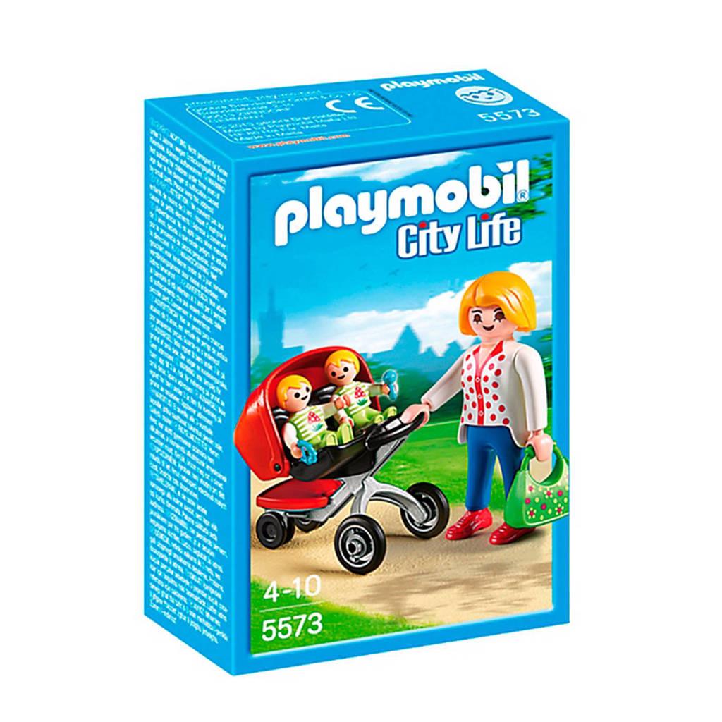 Playmobil City Life  tweeling kinderwagen
