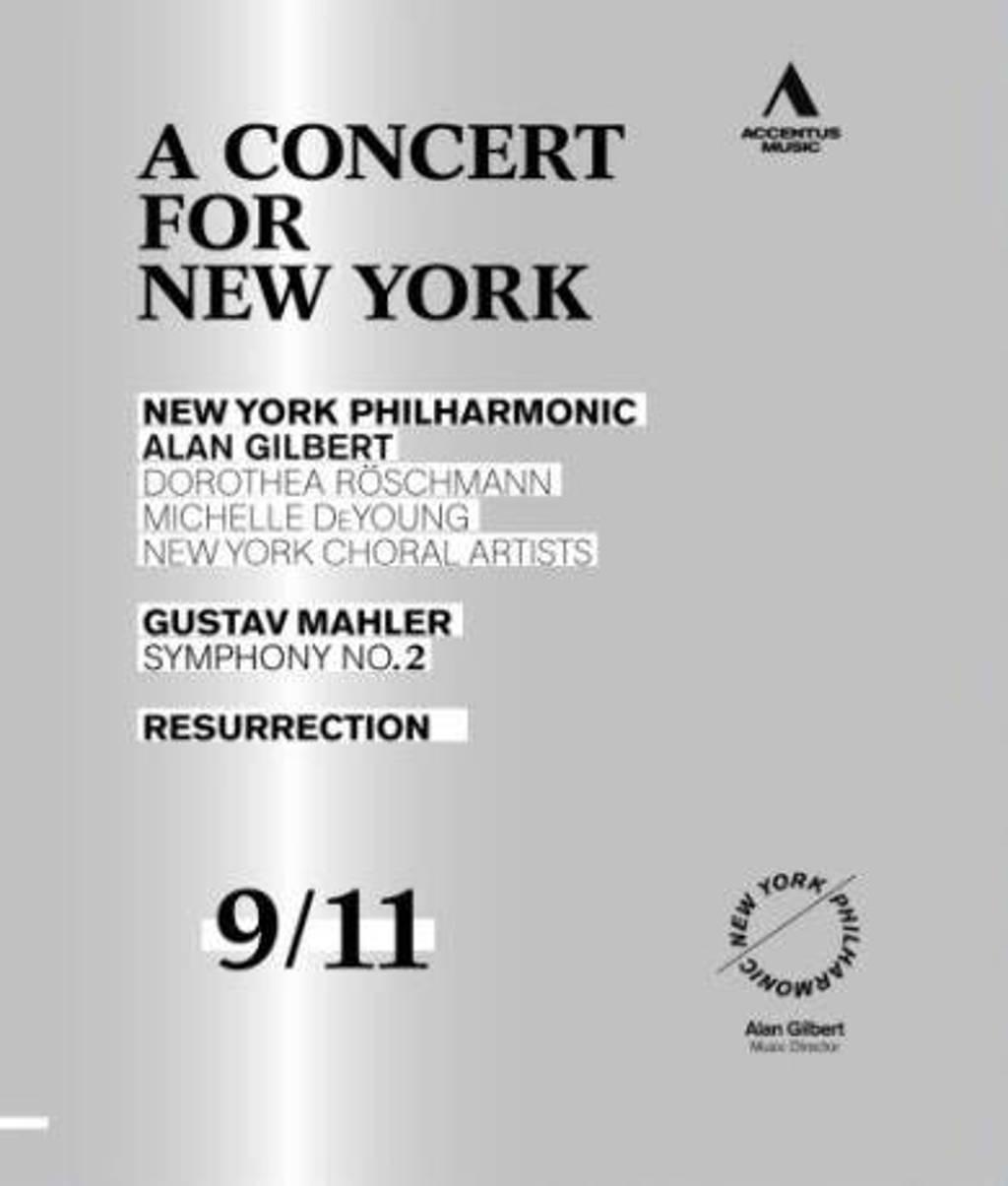 New York Philharmonic/Roschmann/Dey - A Concert For New York: Symphony No (Blu-ray)