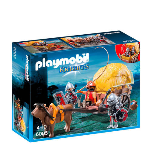 Playmobil Knights Camouflage Hooiwagen 6005