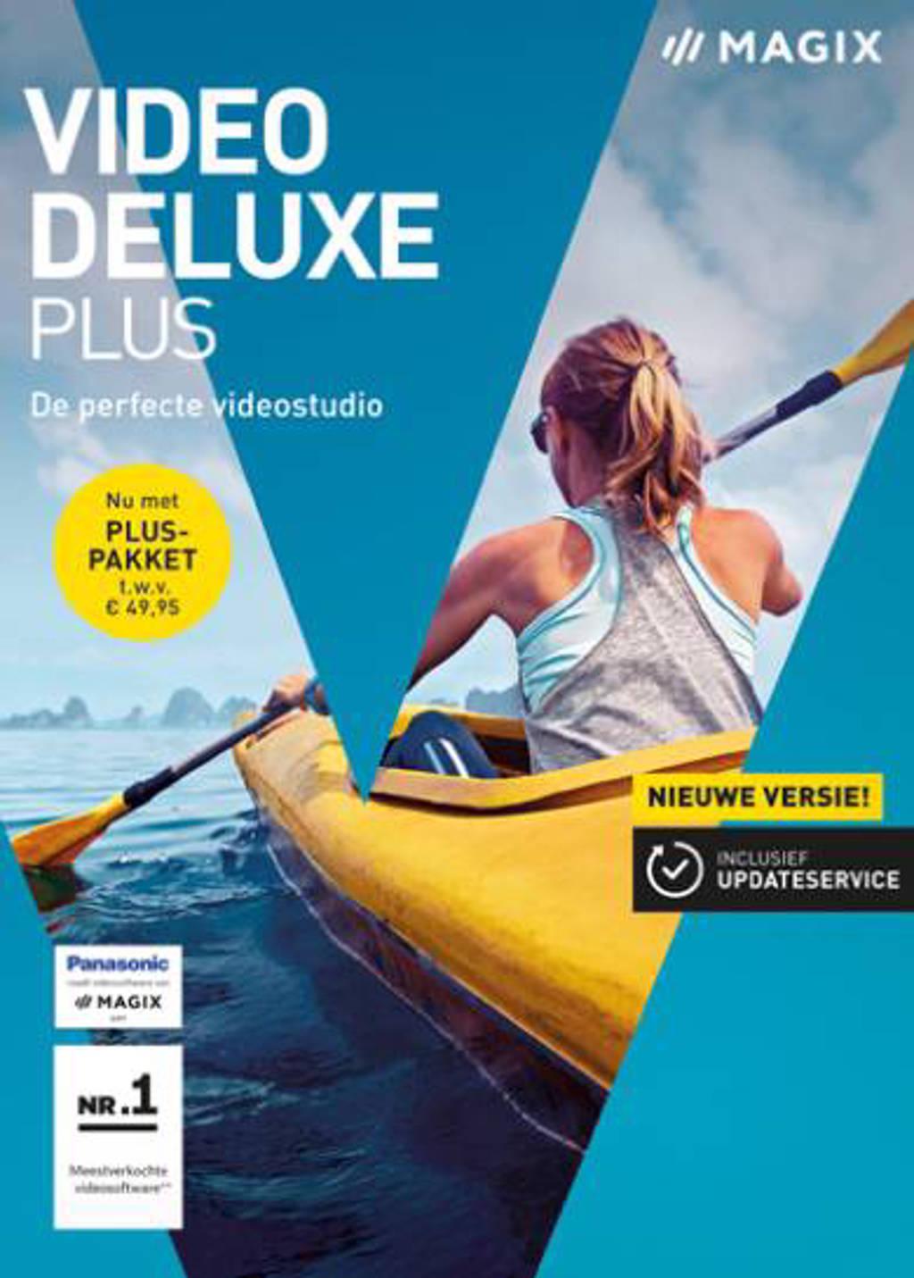 Magix video deluxe - Plus 2018 (PC)
