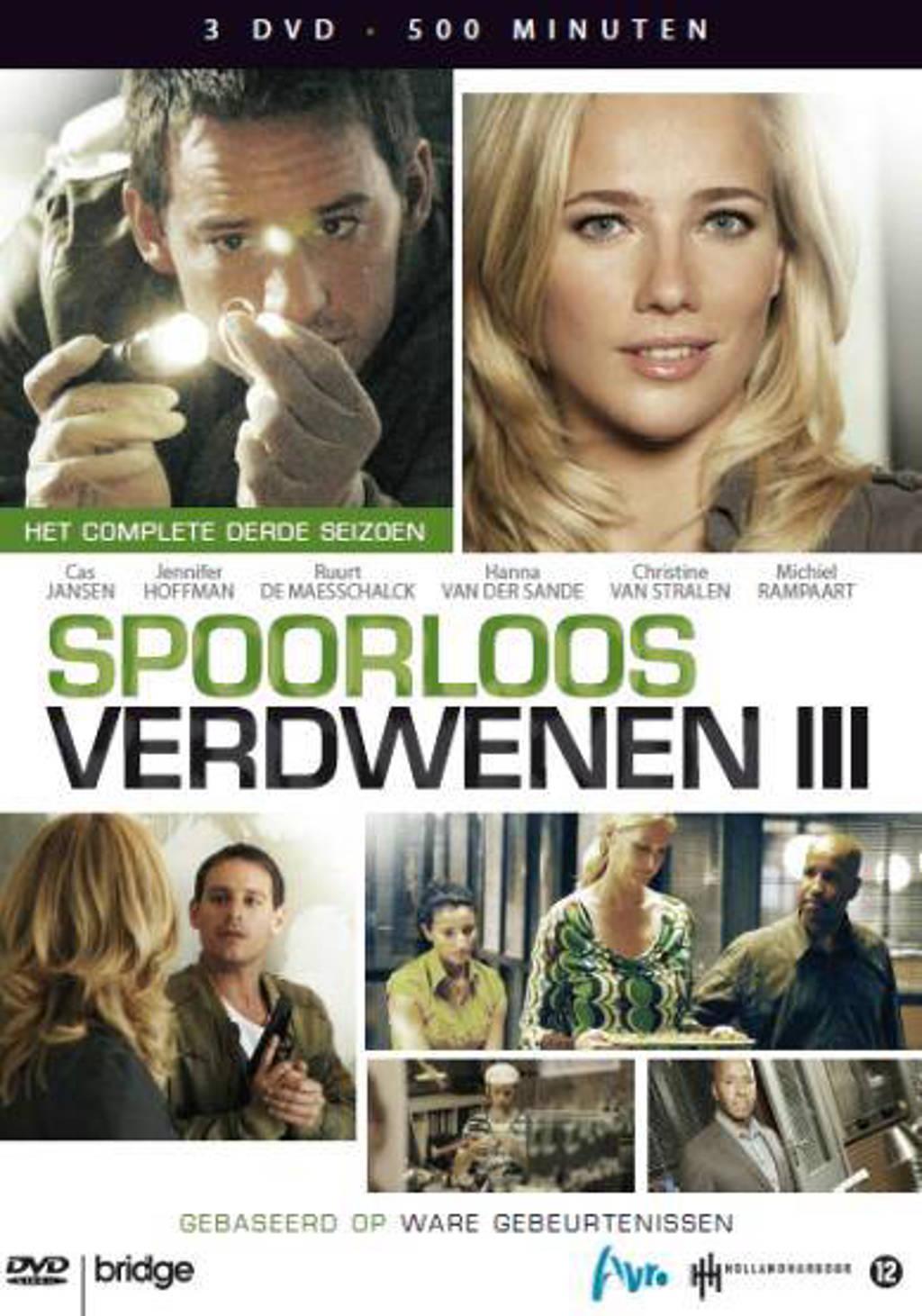 Spoorloos verdwenen - Seizoen 3 (DVD)