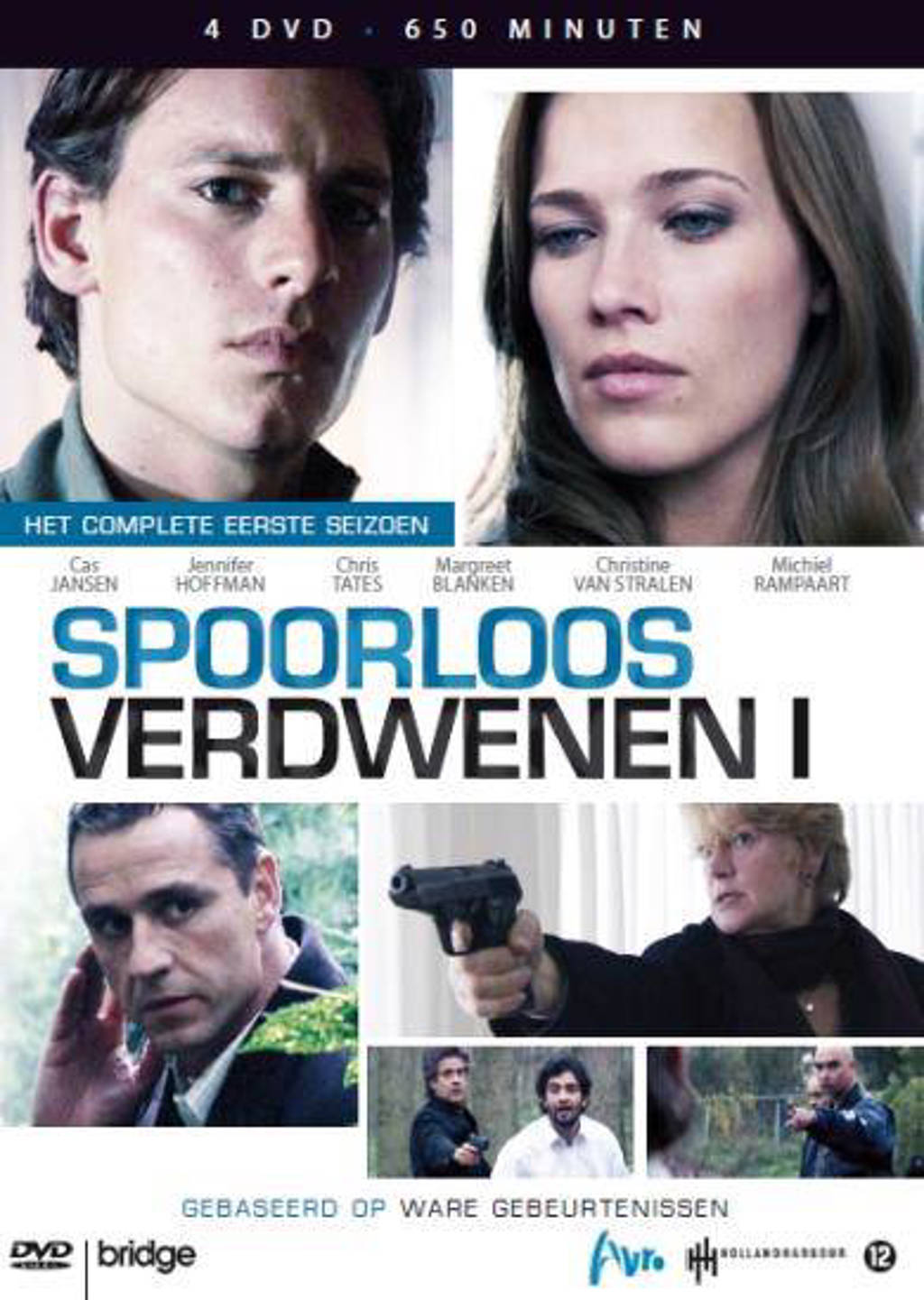 Spoorloos verdwenen - Seizoen 1 (DVD)