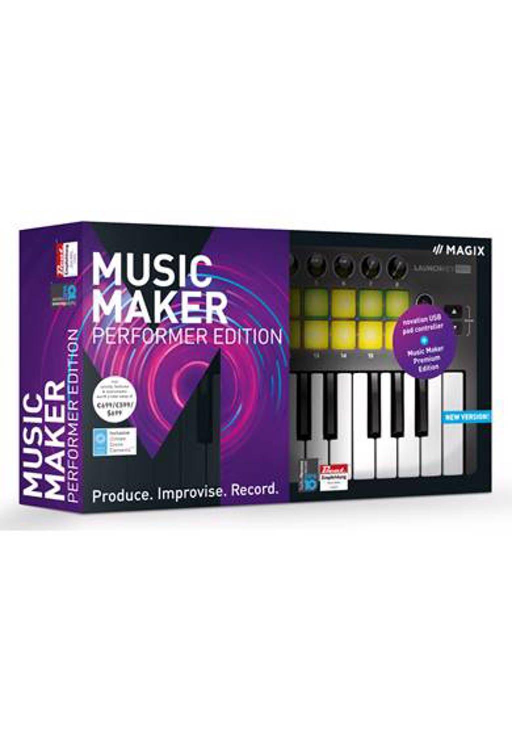 Magix music maker performer 2018 (PC)
