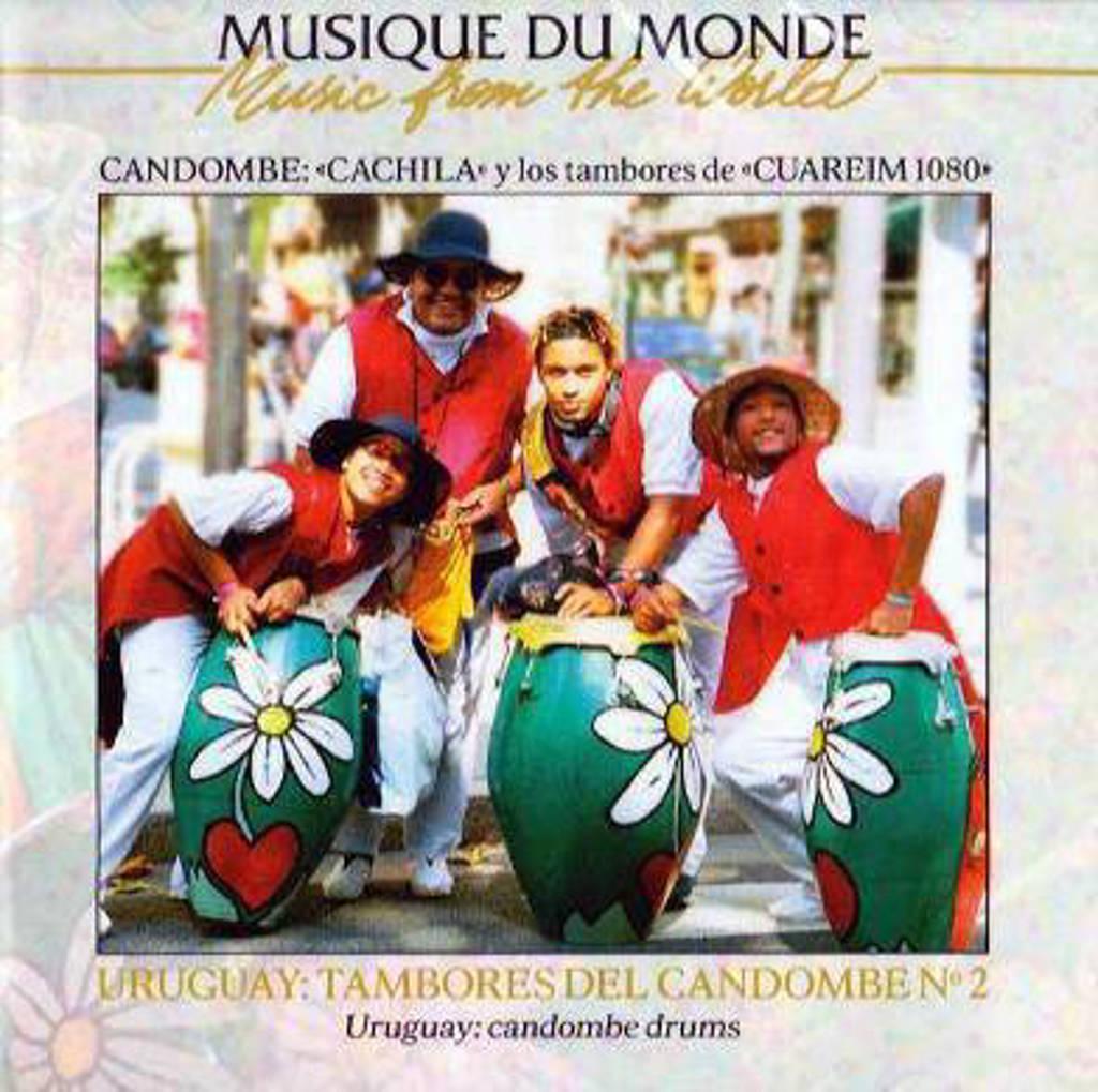 Uruguay Various Artists - Uruguay Candombe Drums Vol 2 (DVD)