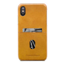 iPhone X Tune leren backcover