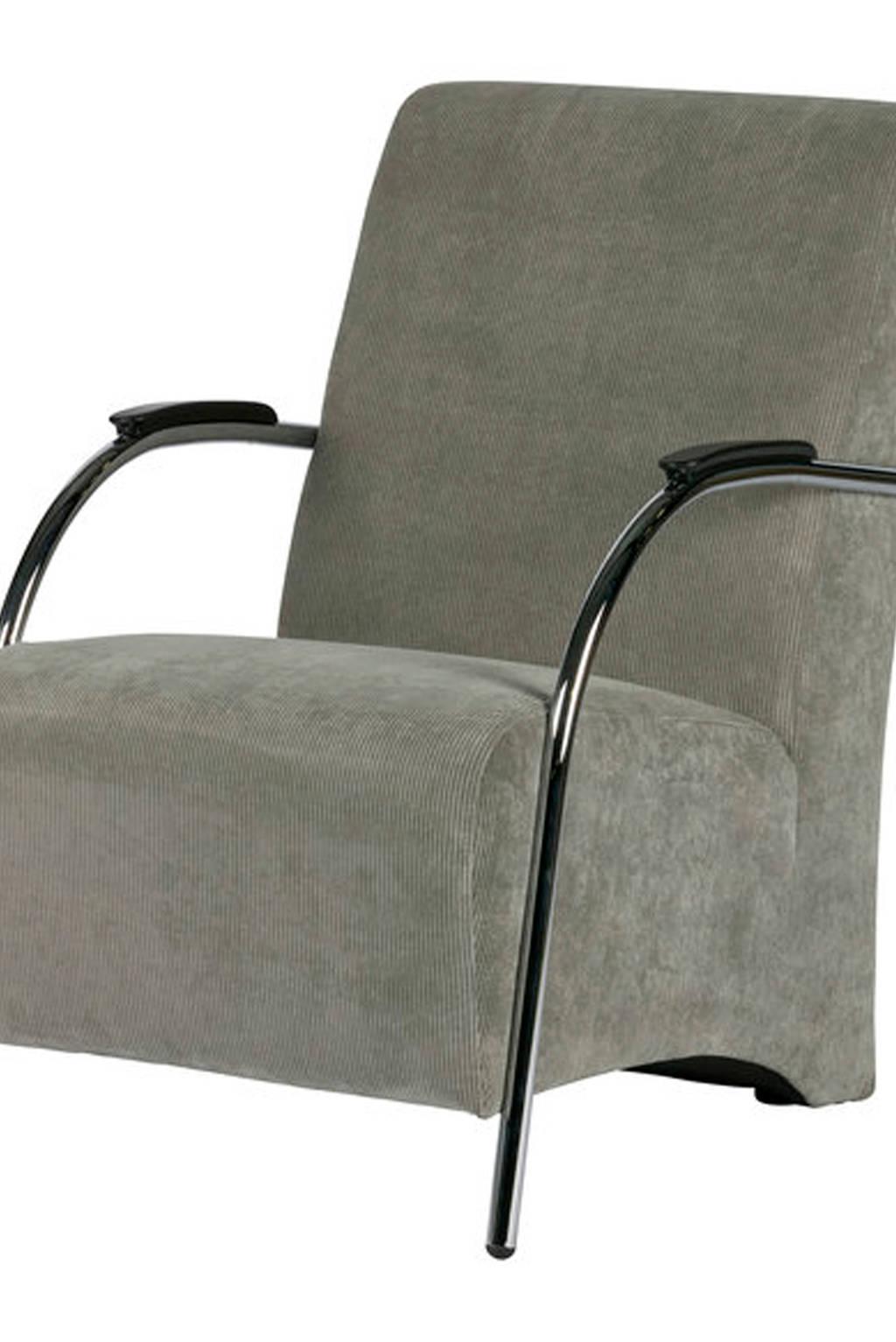 Woood fauteuil Halifax, Vergrijsd groen