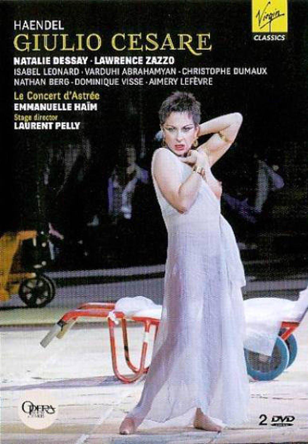 Natalie Dessay/Lawrence Zazzo/ - Handel Giulio Cesare (DVD)