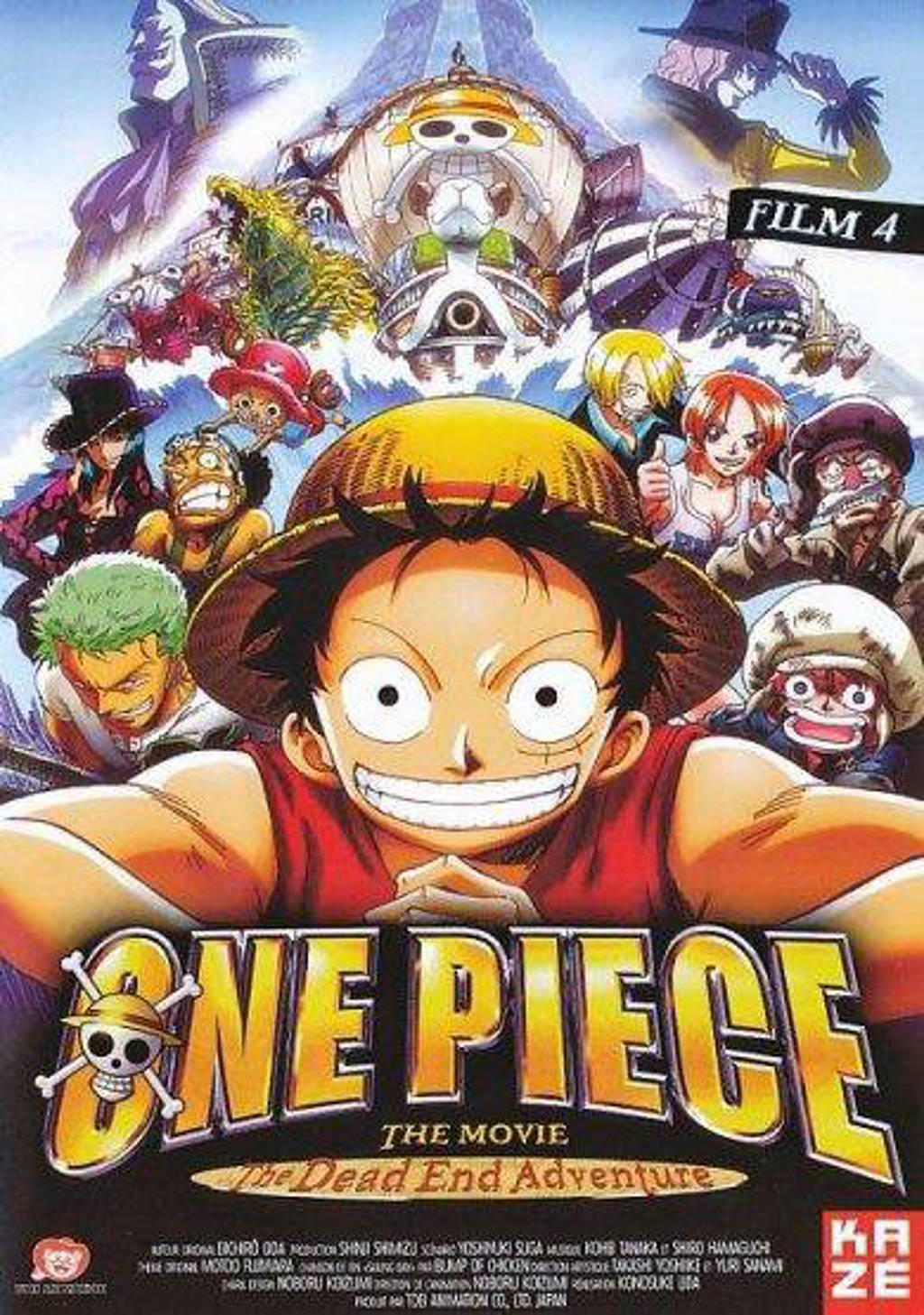 One piece film 4 - The dead end adventure (DVD)