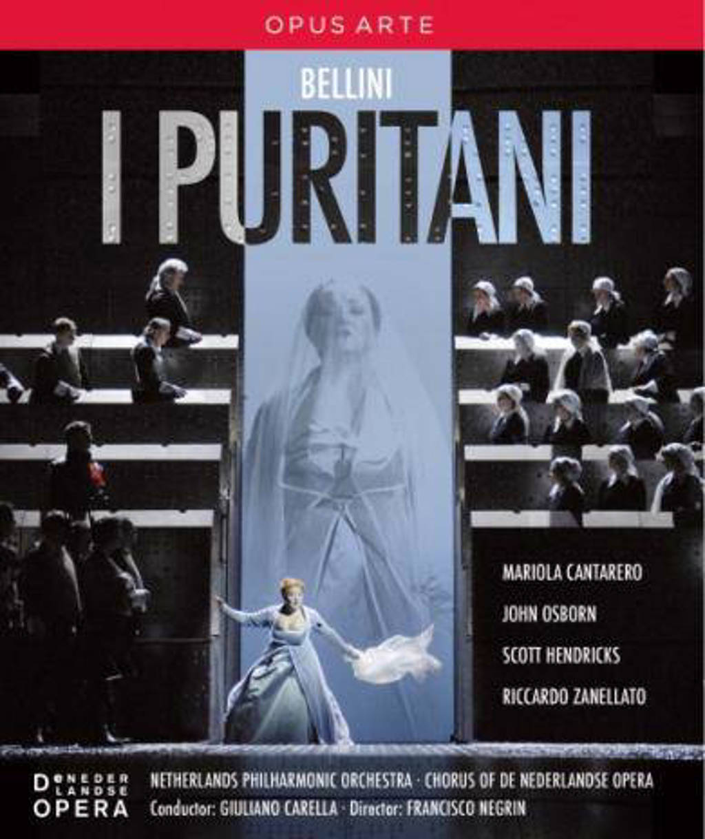 Borowski/Zanellato/Osborn/Ned.Philh - I Puritani (Blu-ray)