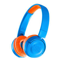 JBL JR300BT on-ear bluetooth kinder hoofdtelefoon blauw