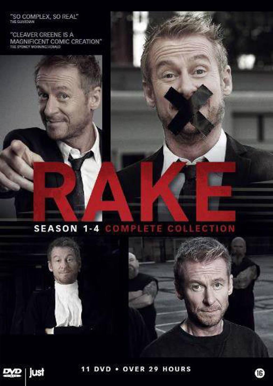 Rake - Seizoen 1-4 (DVD)