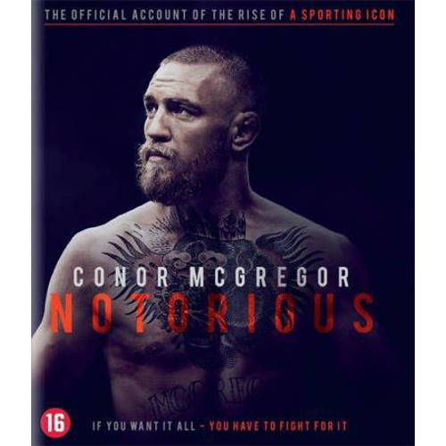 Conor McGregor - Notorious (Blu-ray) kopen