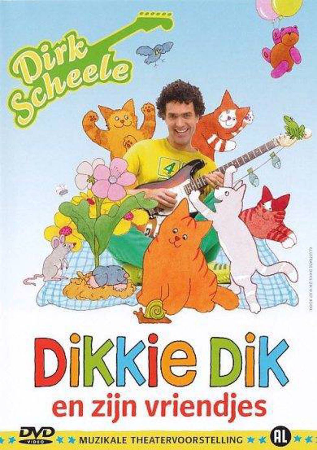 Dirk Scheele - Dikkie Dik En Zijn Vriendjes (DVD)