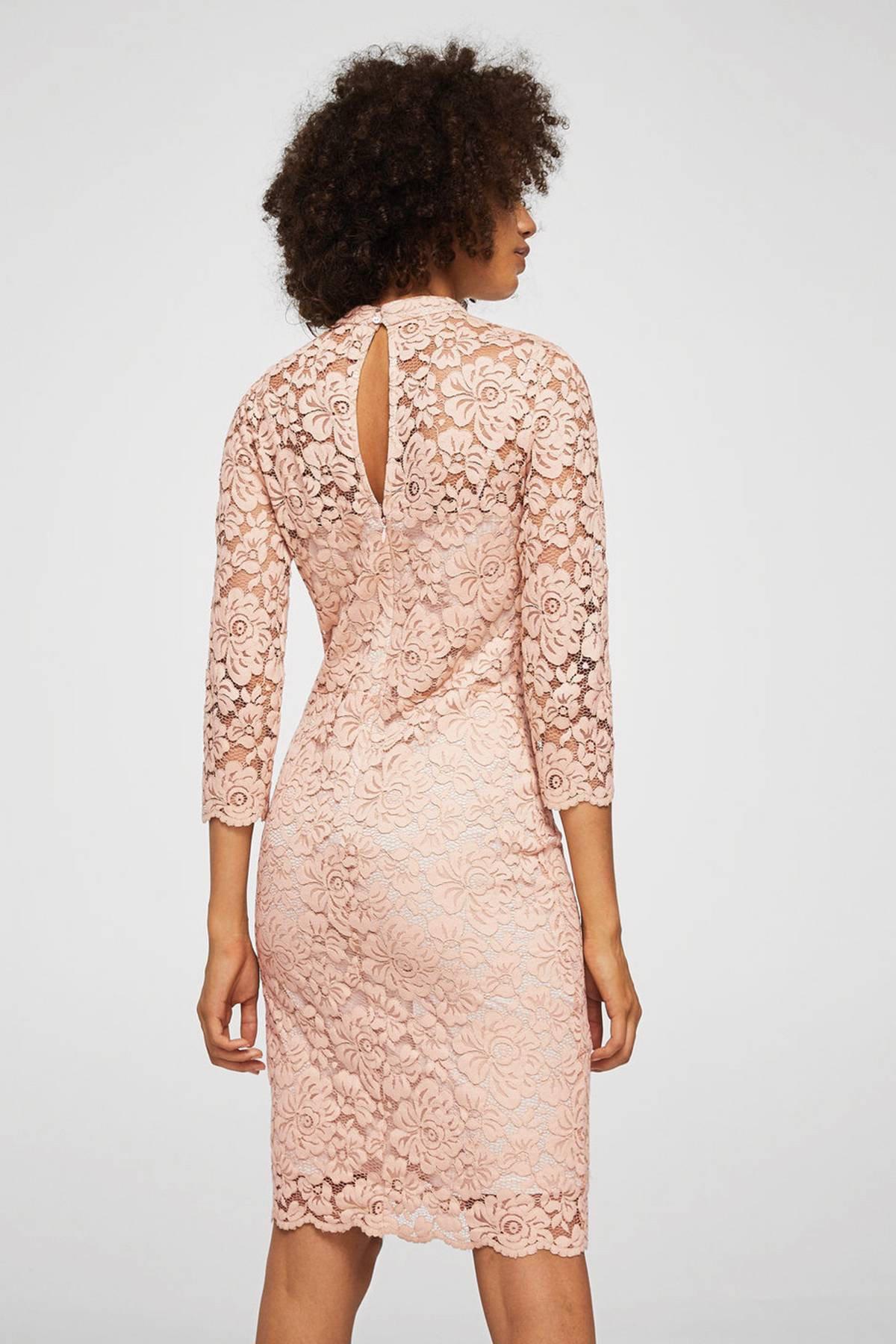 Spiksplinternieuw Mango kanten jurk | wehkamp TP-13