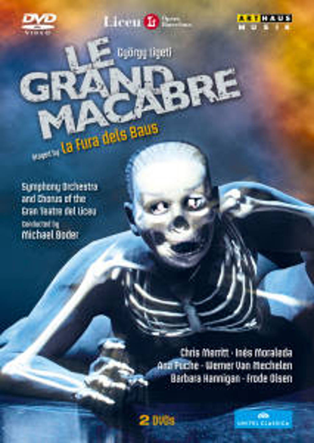 Merritt,Moraleda,Puche,Mechelen - Le Grand Macabre, Barcelone 2011 (DVD)