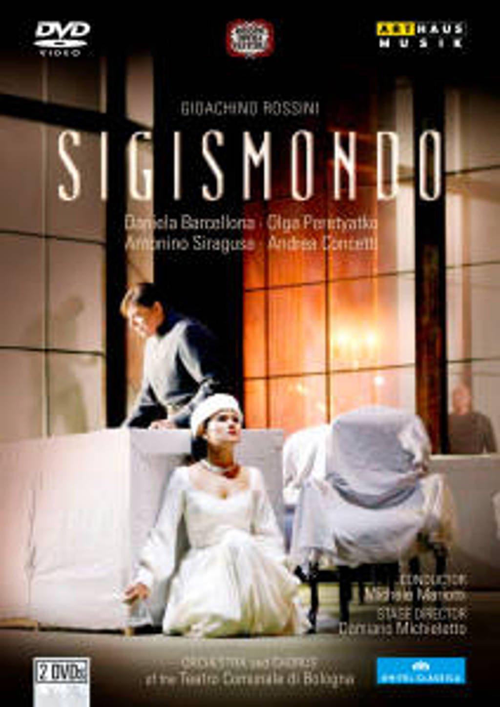 Baercellona,Concetti,Peretyatko - Sigismondo, Pesaro 2010 (DVD)