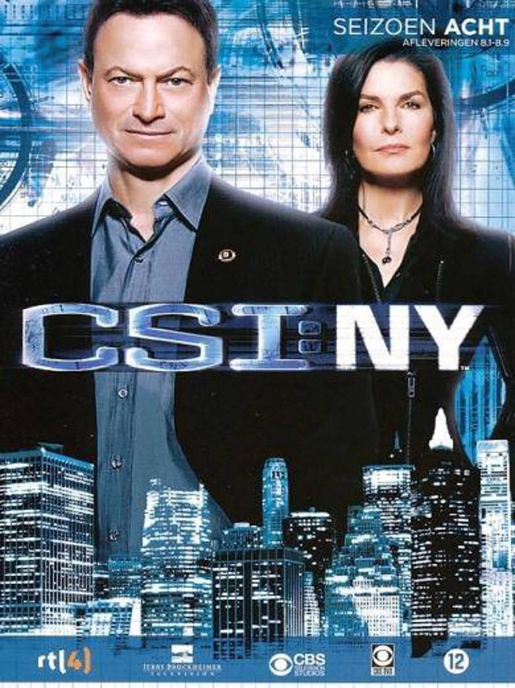 CSI New York - Seizoen 8 Deel 1 (DVD)