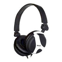 AKG K518 on-ear DJ koptelefoon wit