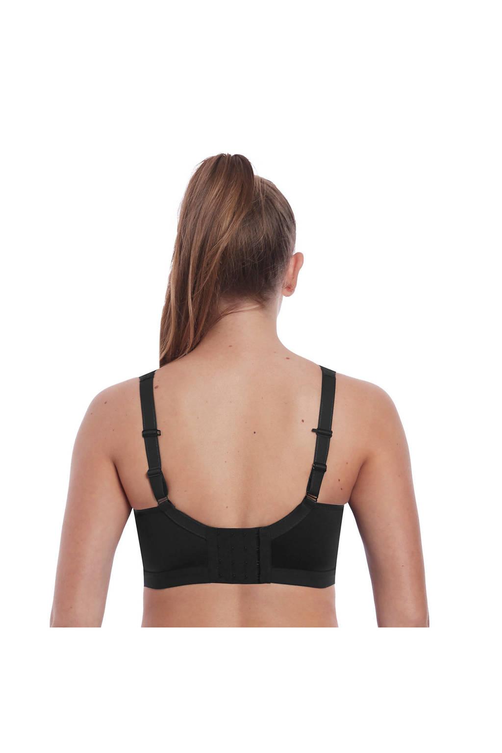 Freya Active Level 1 sportbh Dynamic Soft zwart, Zwart