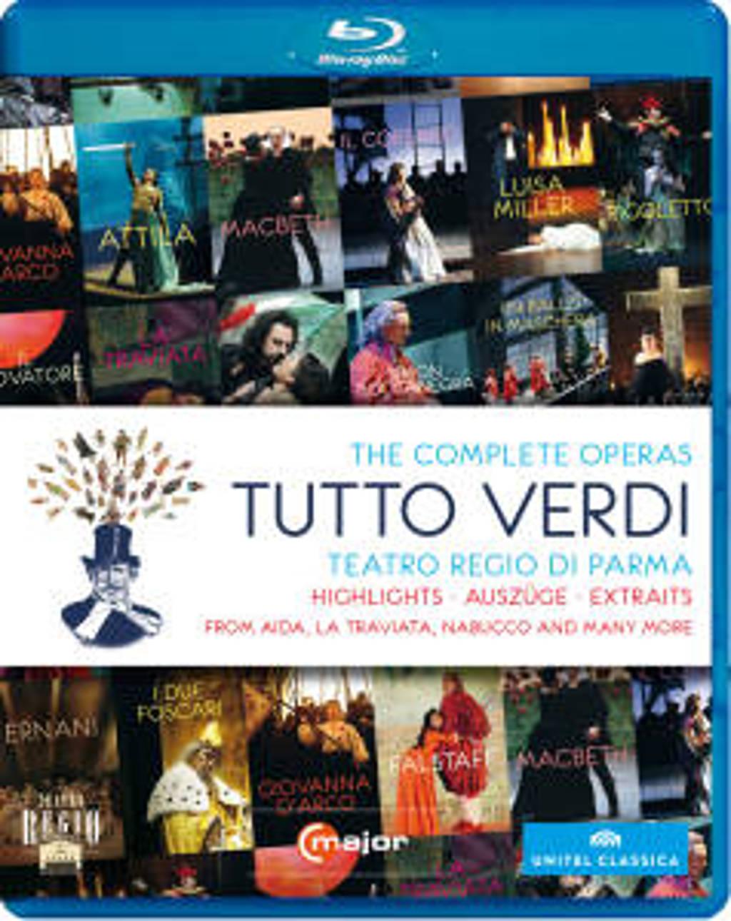 Dessi,Cedolins,Alvarez - Tutto Verdi, Blu-Ray (Blu-ray)