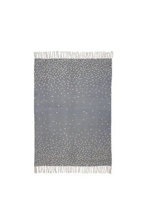 vloerkleed grijs  (120x90 cm)