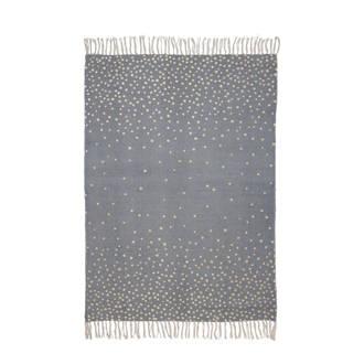vloerkleed grijs  (90x120 cm)