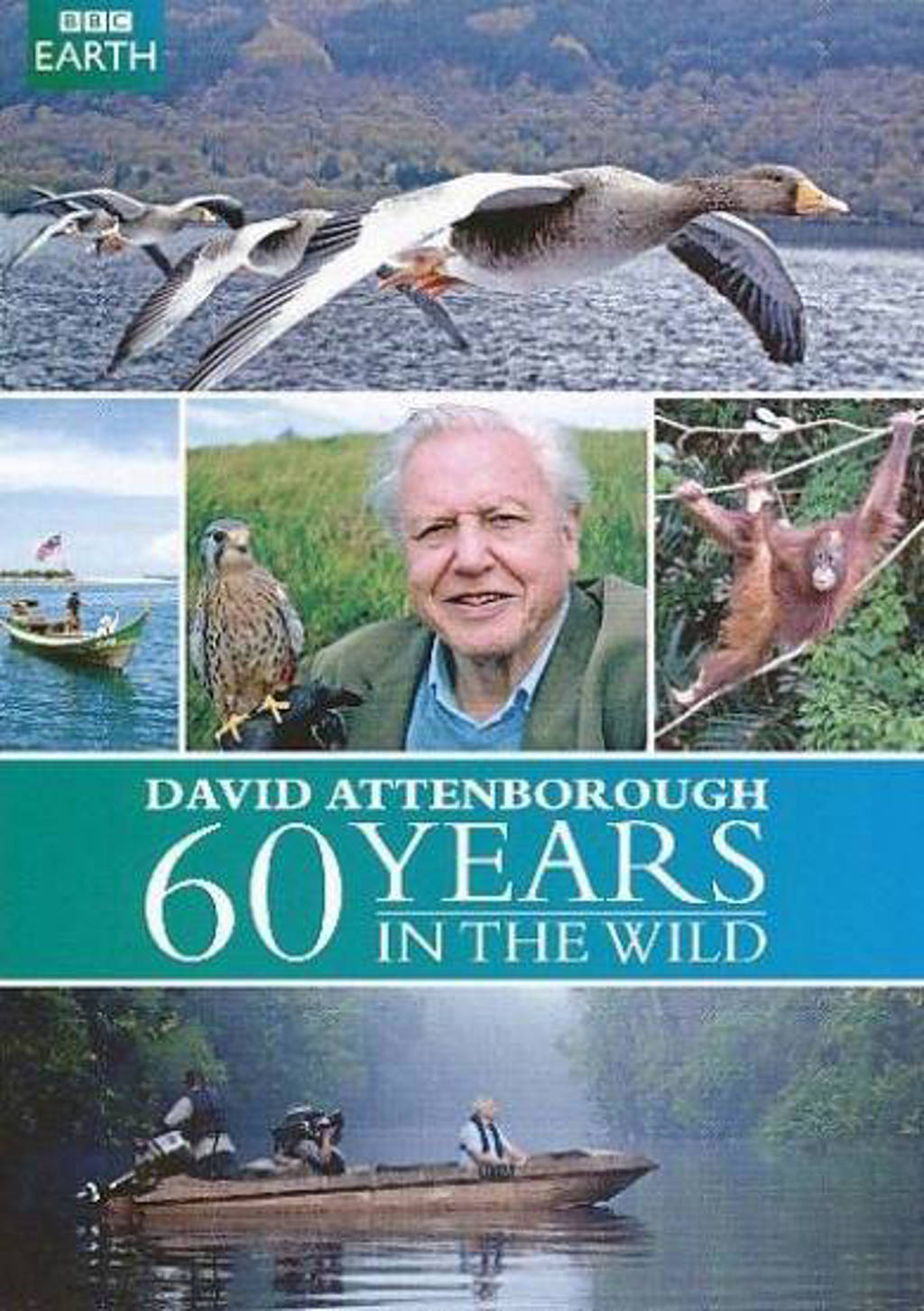 BBC earth - Attenborough 60 years in the wild (DVD)