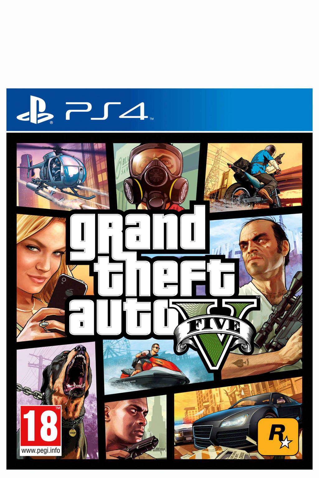 GTA V (PlayStation 4), Sony PlayStation 4
