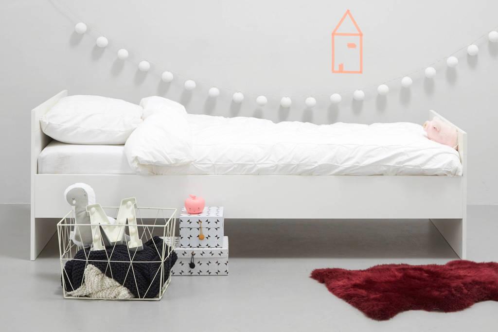 whkmp's own eenpersoonsbed Cas (90x200 cm), Wit