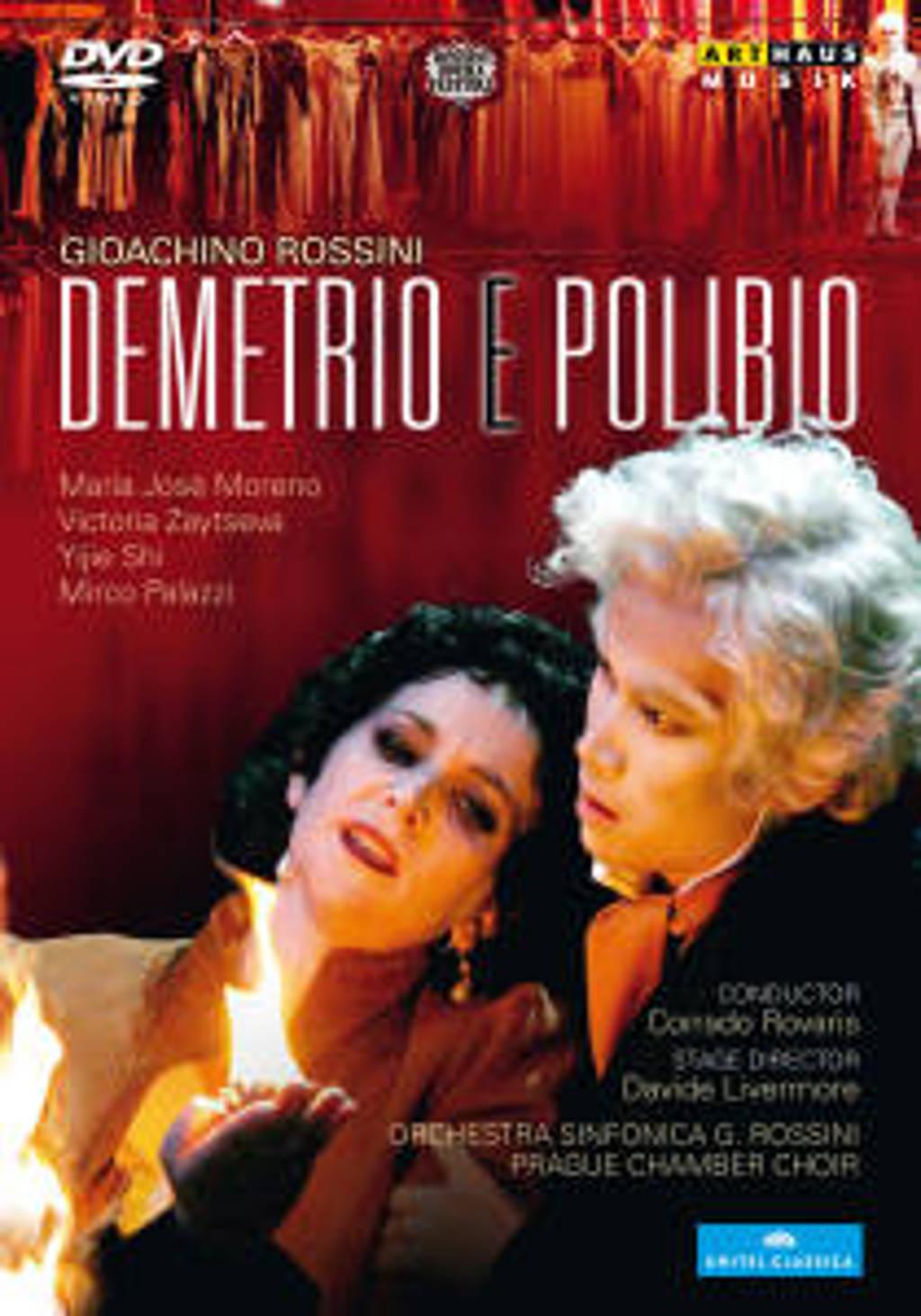 Moreno,Zaytseva,Shi - Demetrio E Polibio, Pesaro 2010 (DVD)