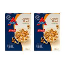 Atkins Muesli Crunchy - duo pack