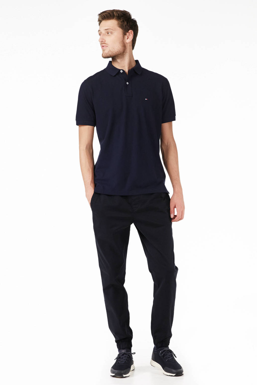 Tommy Hilfiger regular fit polo, Marine