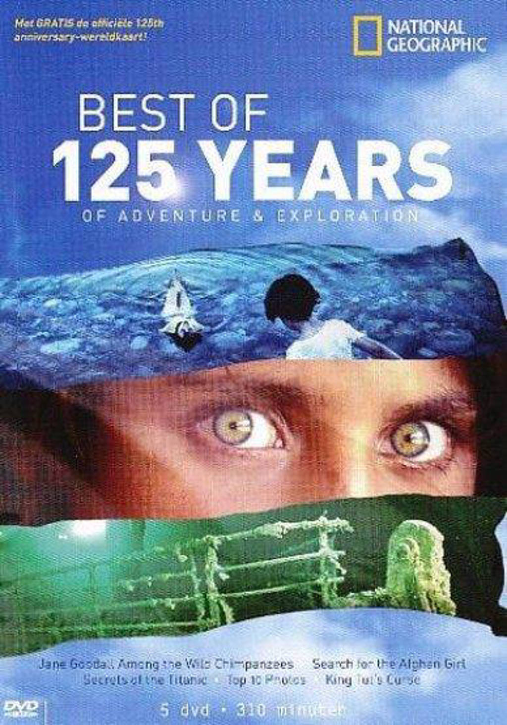 National geographic - 125 years of exploration (DVD)