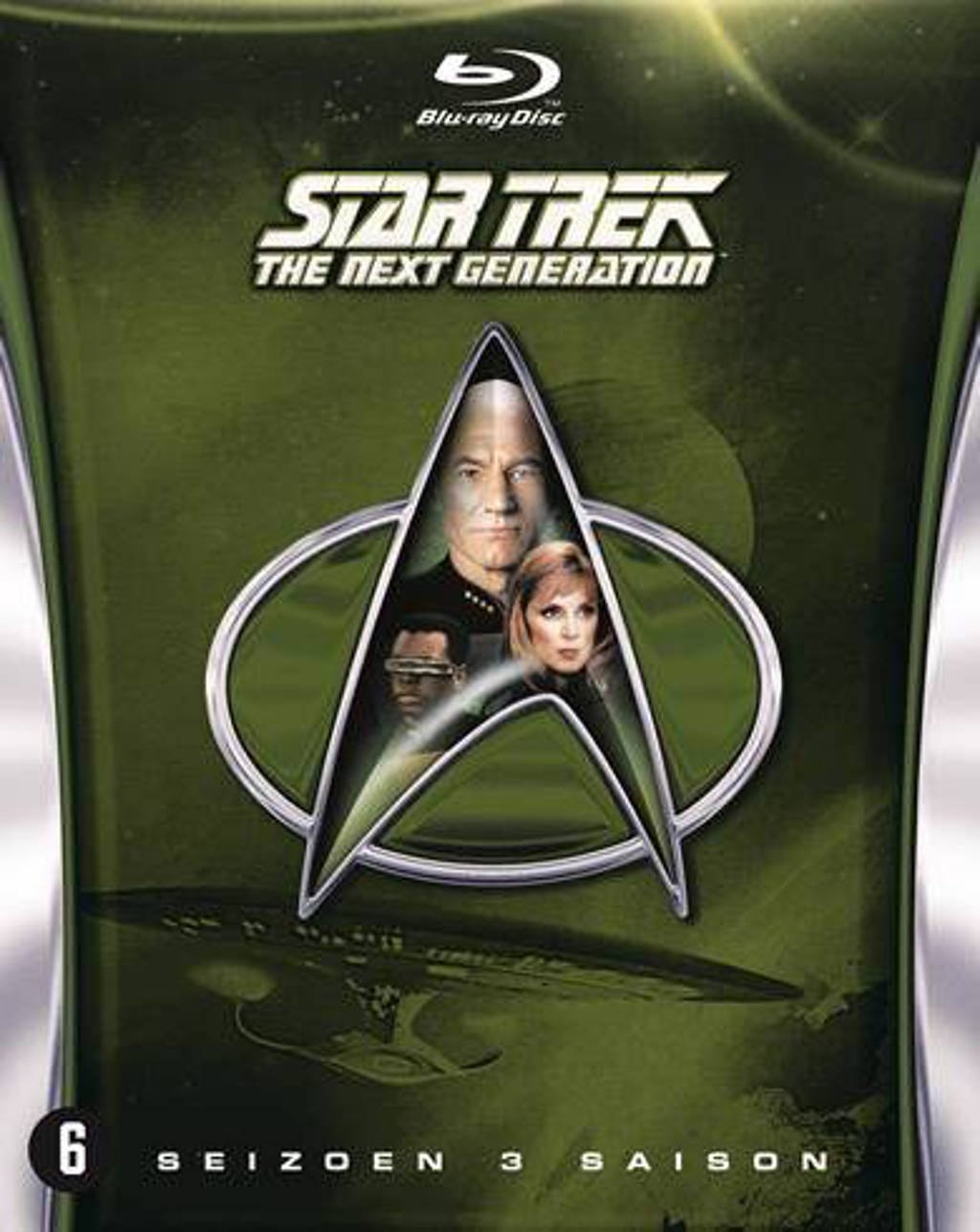 Star trek next generation - Seizoen 3 (Blu-ray)