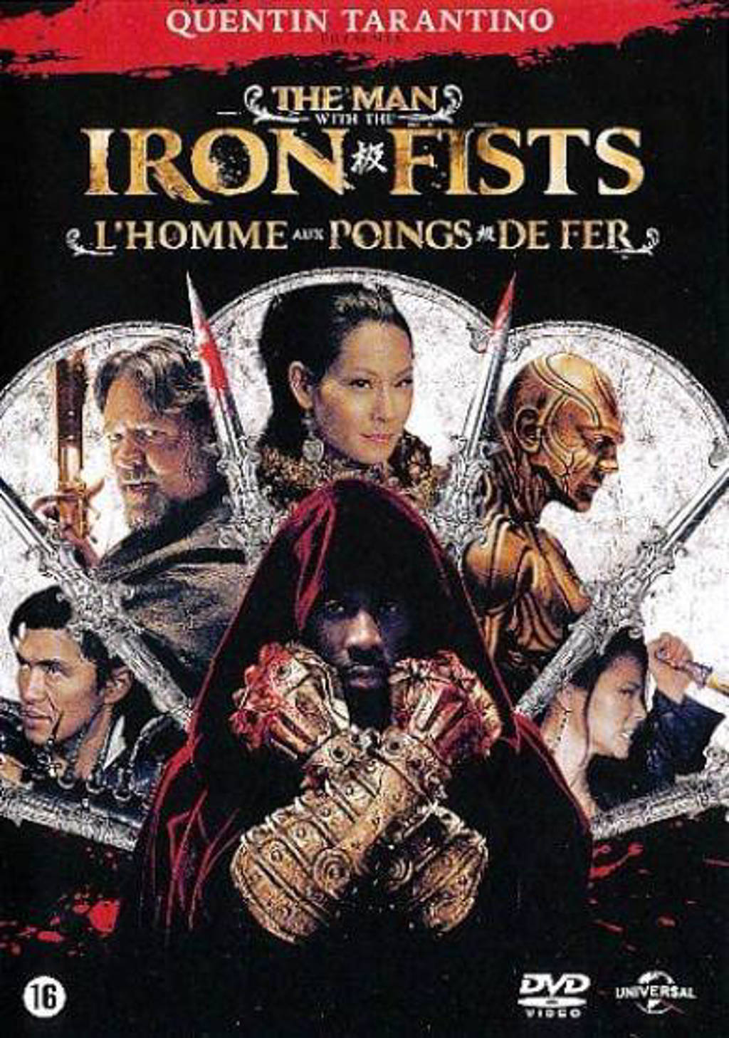 Man with the iron fists (DVD)