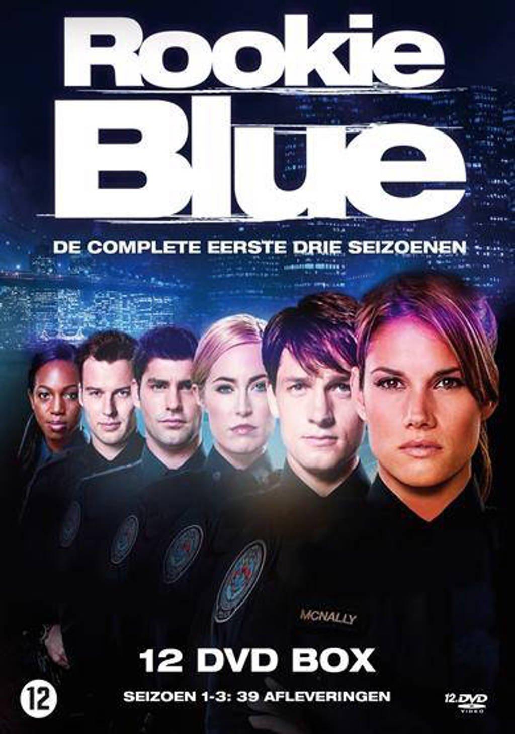 Rookie Blue - Seizoen 1 - 3 (DVD)