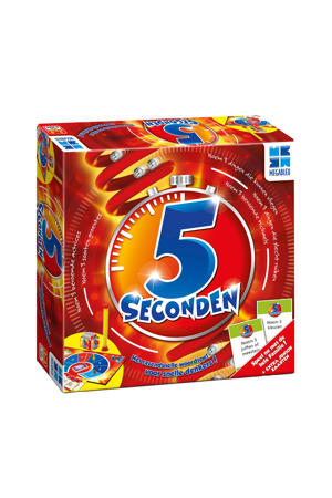 5 Seconden met juniorkaarten bordspel