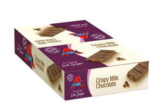 Endulge Crispy Melk Chocolade repen - 13 + 2 gratis