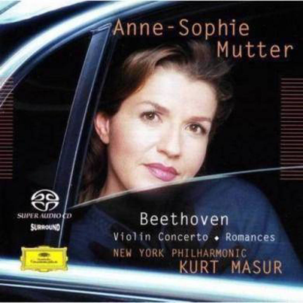 Anne-Sophie Mutter - Violin Concerto; Romances (Audio) (Blu-ray)