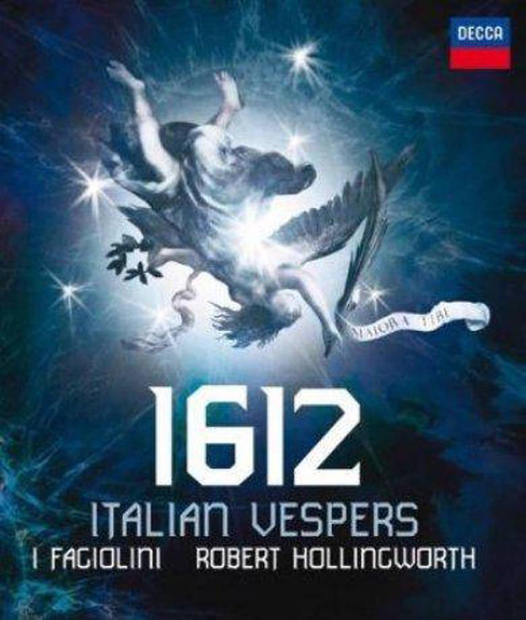 Robert I Fagiolini/Hollingworth - 1612 Vespers (Audio) (Blu-ray)