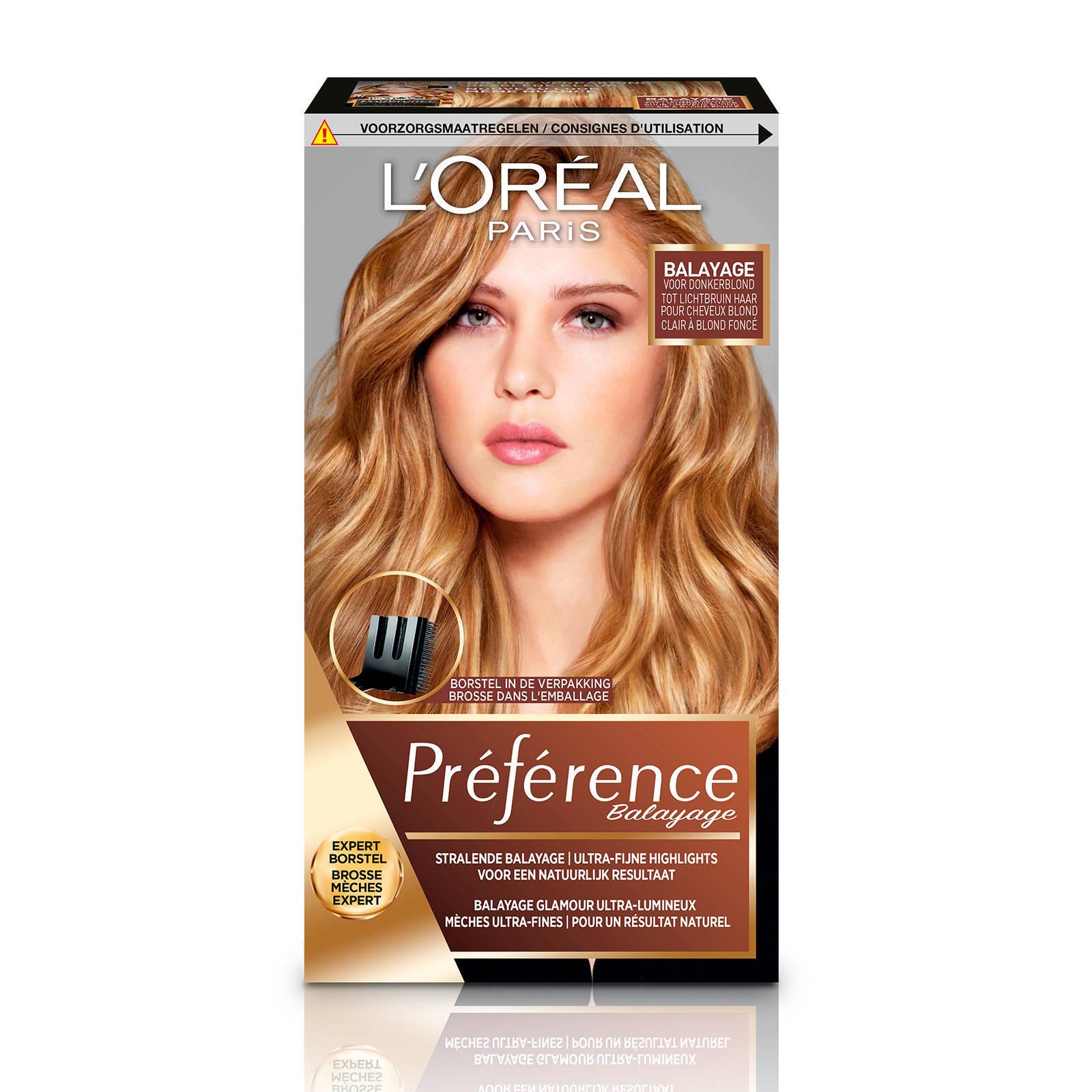 L'Oréal Paris Préférence Highlight haarkleuring - 02 Dark to Light Blond