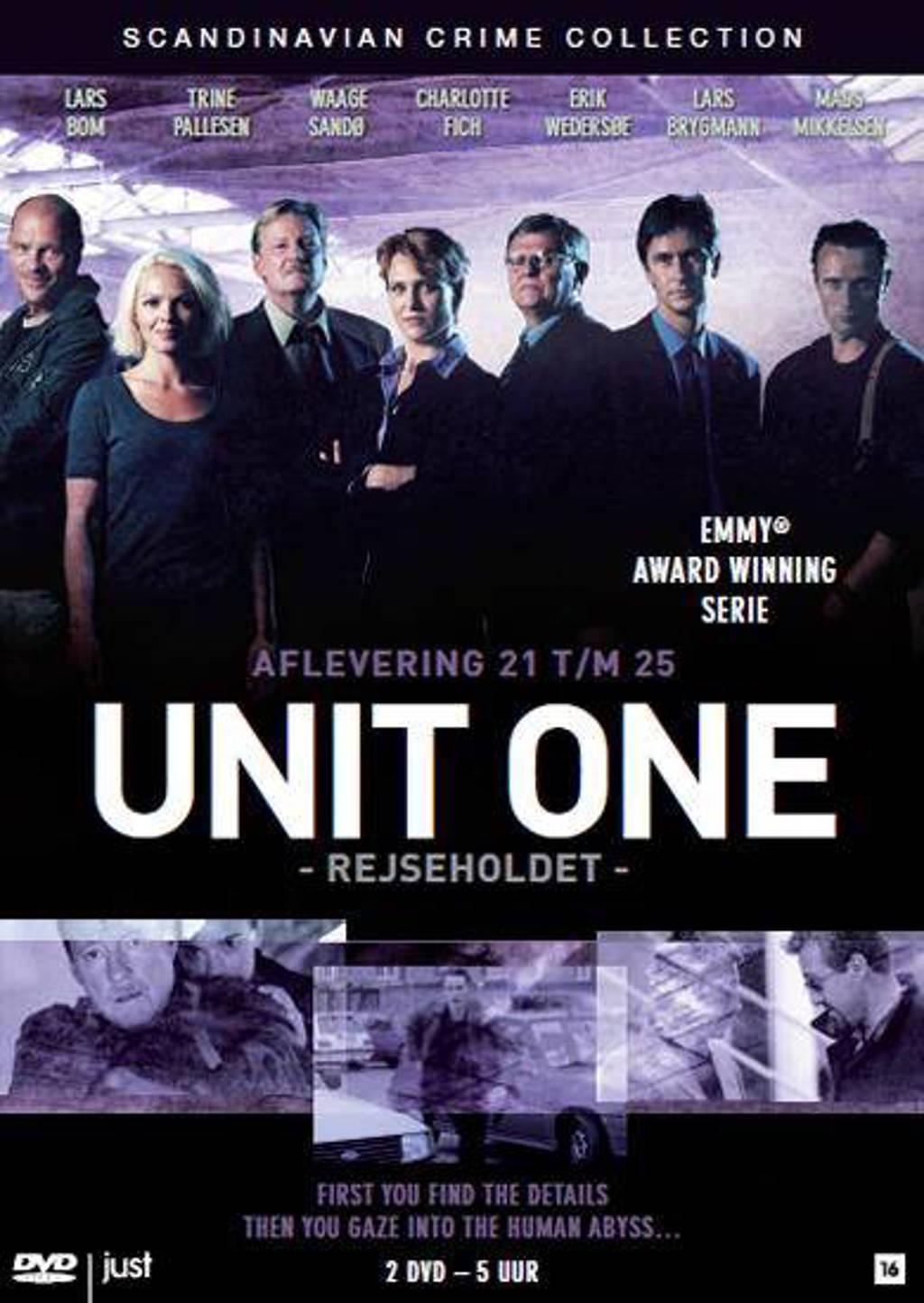 Unit one (Rejseholdet) - afl. 21-25 (DVD)