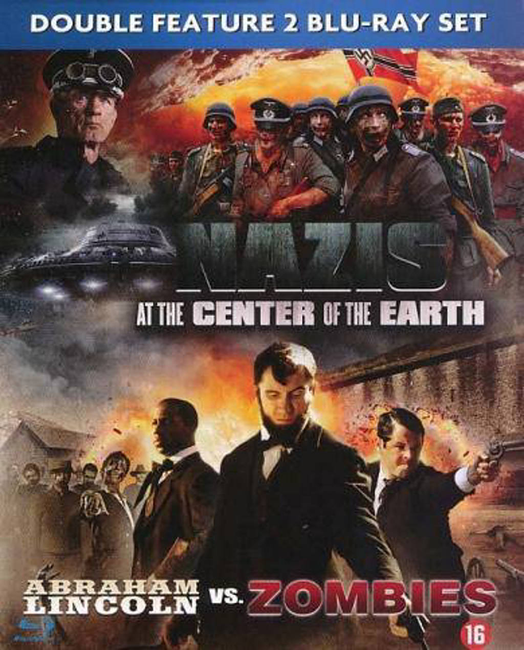 Abraham Lincoln/Nazi's at the centre of earth (Blu-ray)
