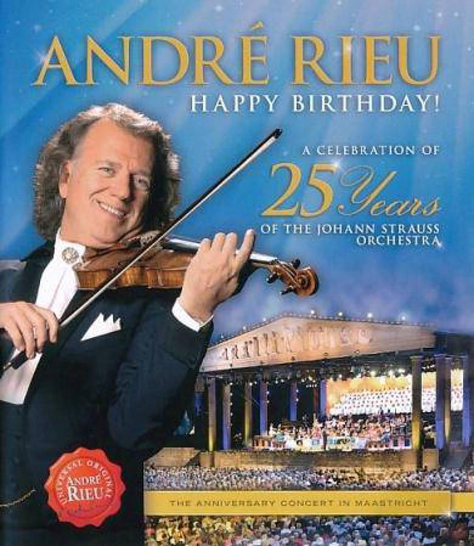 Andre Rieu - Happy Birthday! A Celebration Of 25 (Blu-ray)