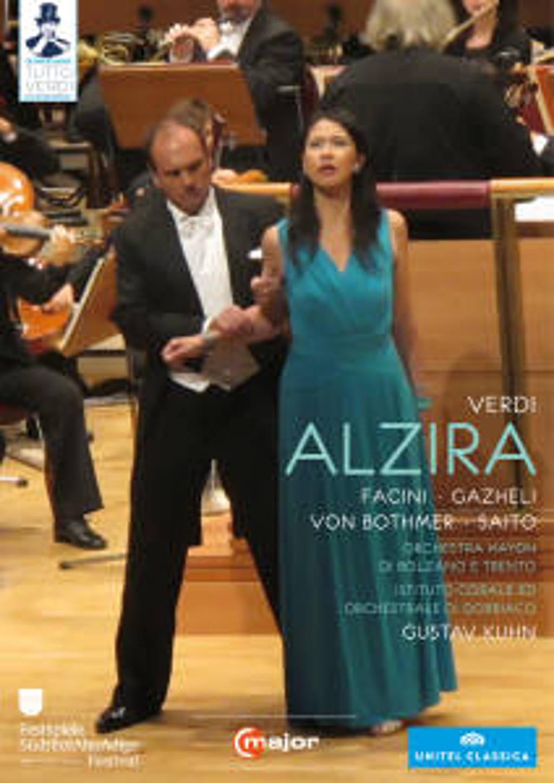 Facini,Gazheli,Saito - Alzira, Alto Adige Festival 2012 (DVD)