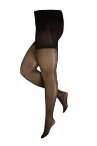 Pamela Mann corrigerende panty  +size 20 denier zwart, Zwart