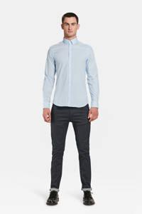 WE Fashion slim fit overhemd, Pale Blue